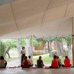 Carpa para practicar Yoga