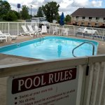 Pool with Days Inn next door.