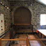 B&O Railroad museum (Ellicott City), old station interior displays