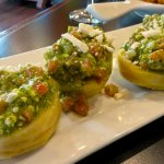 Stuffed Artichoke bottoms -- a must to try