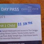 Canggu Beach Club Entrance Ticket for one Child