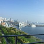View of Minato Mirai from the room