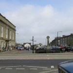 The square in Leyburn