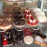 Just a small selection of cakes ice cream and fancies at frulato