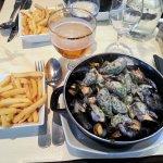 Moules au Maroilles!! Huuummm!