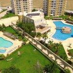 Caesar resort top view