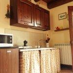 Cucina appartamento Uliveto
