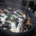 Mon Ami mussels is one of their flagship dishes