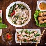 Autentisk Vietnamesisk Street Food