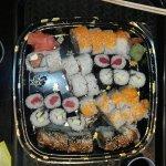 Un relajado sushi