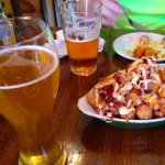 Beer and Loaded Tots