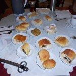 Le petit déjeuner de KATERINA (vous pouvez emmener ce que vous ne mangez pas pour votre brunch)