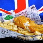Good old fashioned fish n chips!