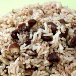 HealthyEaters Rice and peas