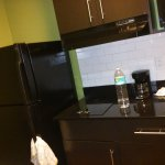 the clean kitchenette
