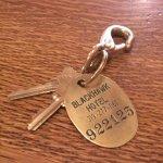 Real keys at the Blackhawk