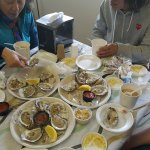 Fresh Oysters and the best New England Clam Chowder.