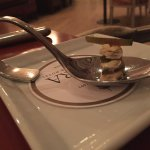 Amuse-bouche: Free taster of goat's cheese and fig