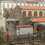 El mercado de Santiago desde la habitación.