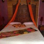 le lit de la suite Delhi