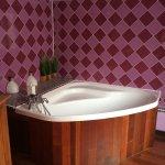 Salle de bain de la suite Delhi
