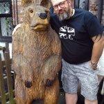 Bear in the Garden 😉