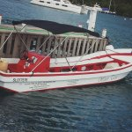 One of our speed boats