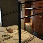Bunk bed missing top bunk