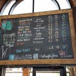 Willoughby beer list June 2016