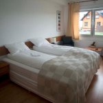 Double bedroom with private facilities.