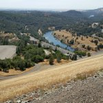 Looking down to the Feather River