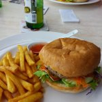 The burgers and Tusker Beer are the bomb!