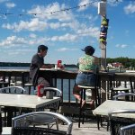 My Kids Enjoying the View At Captain Al's