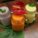 Smoothies from the Juice Bar