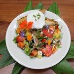 Rainbow Breakfast Salad