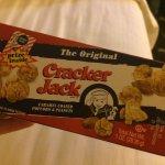 Got some Cracker Jack at Cracker Barrel