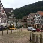 The lovely market place Schiltach