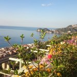 View to Letojanni and Taormina
