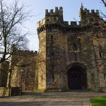 Lancaster Castle nearby, just a short 4 minute walk