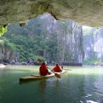 Kayaking @ Halong Bay