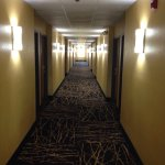 Extremely clean and welcoming motel. Pool is sparkling. Extra wide hall with great lighting.