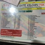 Menu n pricelist