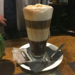 Called in for a lovely  mocha