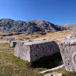 Medieval tombstones on Visocica