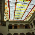 beautiful ceiling in lobby