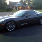 Plenty of Corvette friendly parking!
