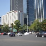 Av. Reforma (en las inmediaciones del hotel)