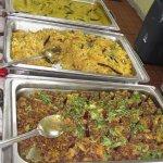 The buffet at Aladdin