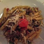 Penne with truffles and beef
