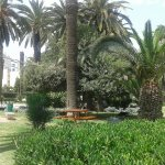 Tout près de l'hôtel,un beau parc(Parc d'Afrique)Et une belle place dédiée à Pasteur.Et une mosq